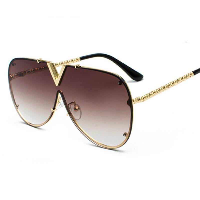 남성 선글라스 패션 오버 사이즈 선글라스 남성 디자이너 고글 태양 안경 여성 스타일 UV400