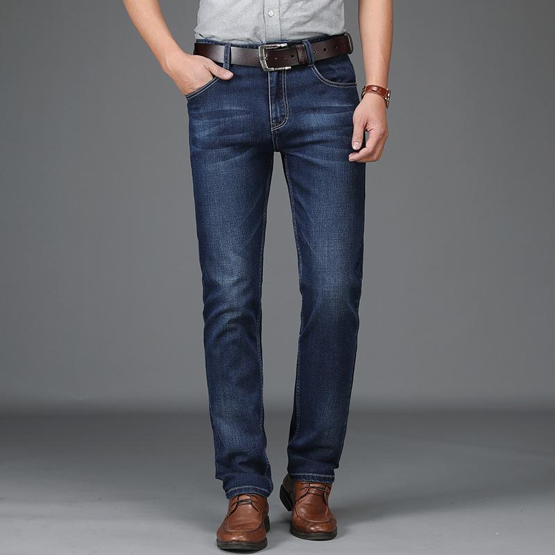 2020 Casual Jeans Hommes Mode Slim haute qualité Marque Homme Denim Pantalons Printemps Automne d'affaires classique en coton doux Pantalons