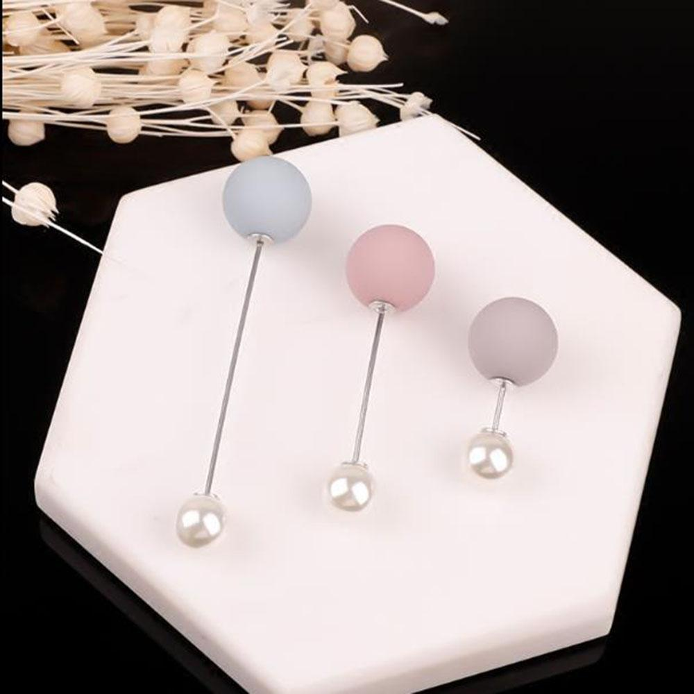 3/4Pcs 's Fashion Set Pearl Brooch Pins Badge Sweater Coat Decorative Jewelry Pin Brooches for Women