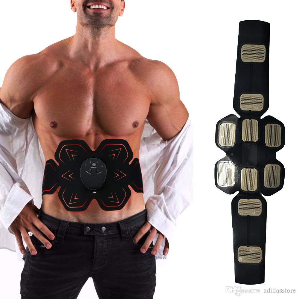Weight Loss Vibration Ab Muscle Trainer Body Massage Fit Training EMS Exercise