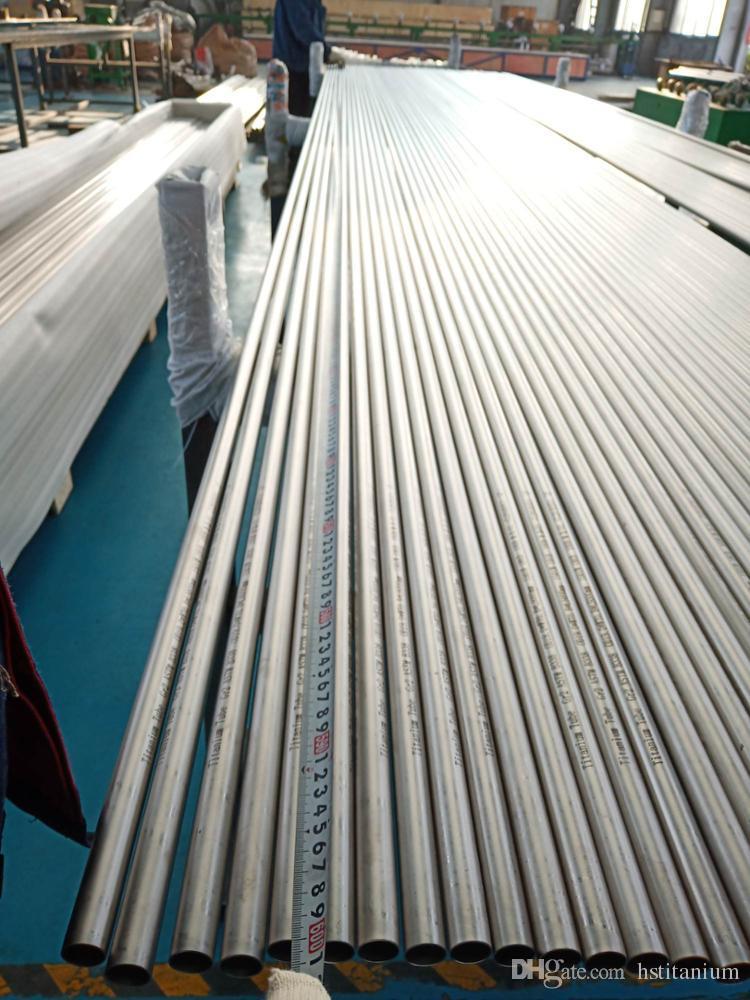 Tuyau en titane sans soudure et soudé et tube en titane tube / tuyau pour la vente chaude d'échangeur de chaleur ou de condensateur