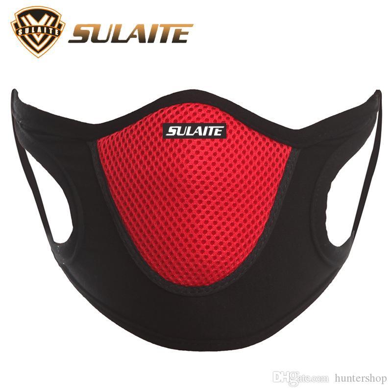 Poeira à prova de vento Anti Poeira cara Veil Ski Snowboard Skating Ciclismo máscara reutilizável respirável facecloth Sports Malha cobrir a boca Sulaite