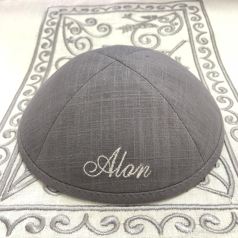 All Sizes Hand Made Black Kippah Yarmulke Jewish Judaica Cap Jew Kippa Kipa Hat