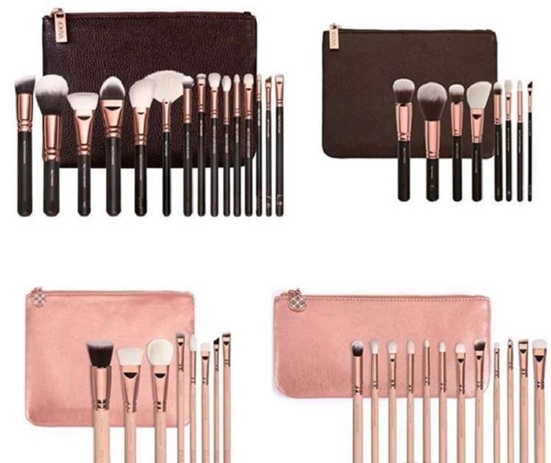 Hochwertiger Make-up Pinsel Mehr Arten Pinsel mit PU-Beutel Profi-Bürste für Powder Foundation Blush Lidschatten Makeup Tools DHL Schiff