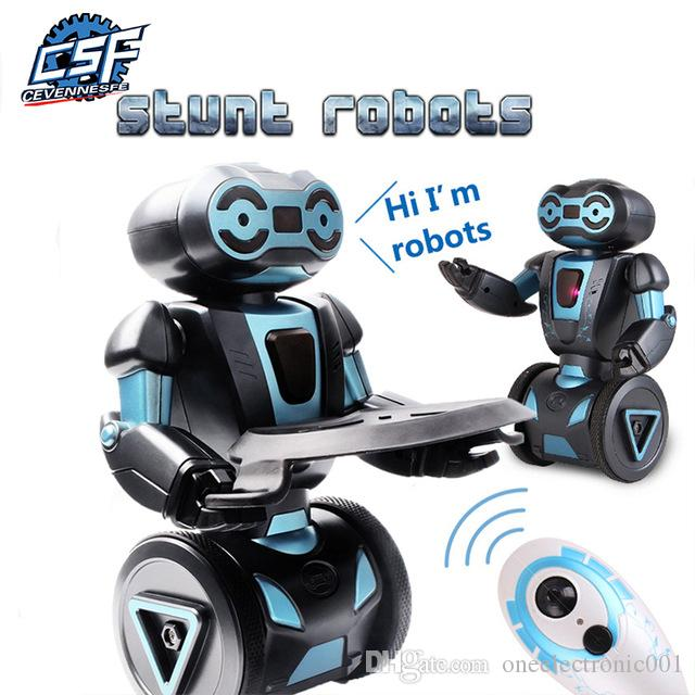 지능형 휴머노이드 로봇 원격 제어 로봇 Smart Self Balancing Robot 5 동작 모드 로봇 개 애완 동물 전자 완구