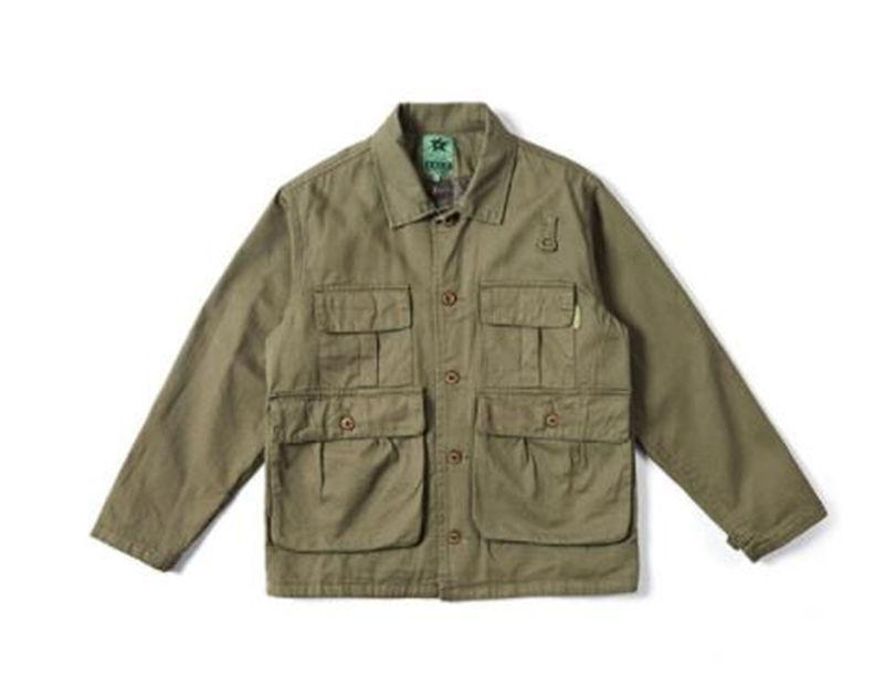 Ceketler Katı Renk Uzun Kollu Erkek Yaka Boyun Dış Giyim Erkekler Casual İşleme Ceketler Gevşek Mens Tasarımcısı