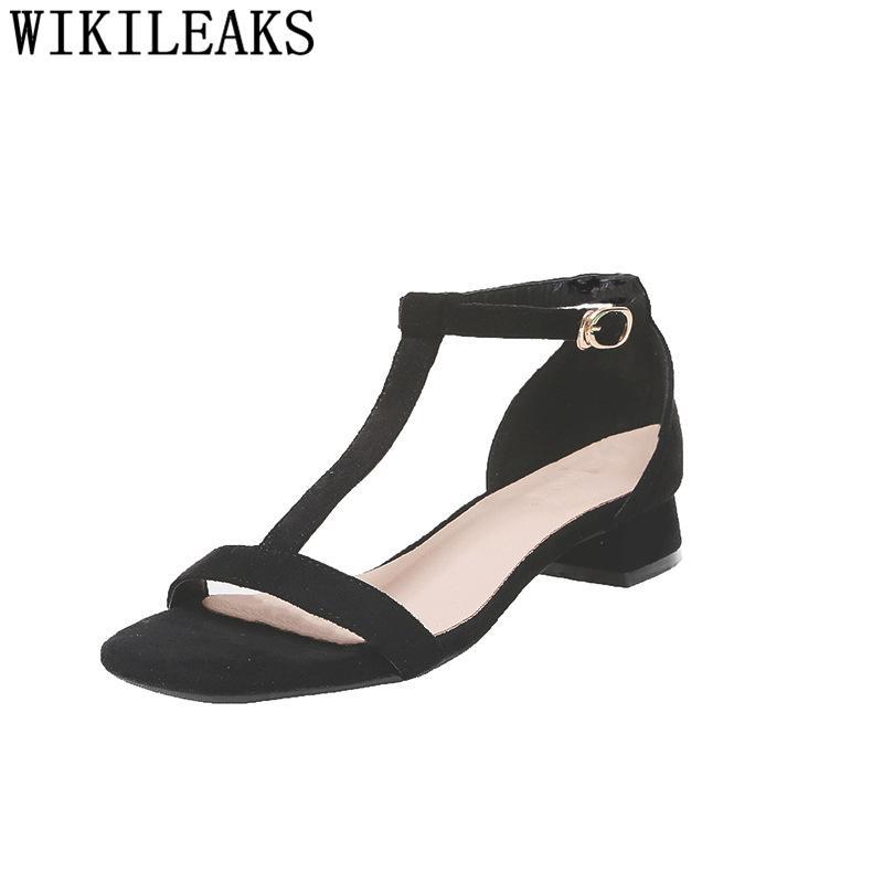 Fashion Heels Women Summer Shoes Woman