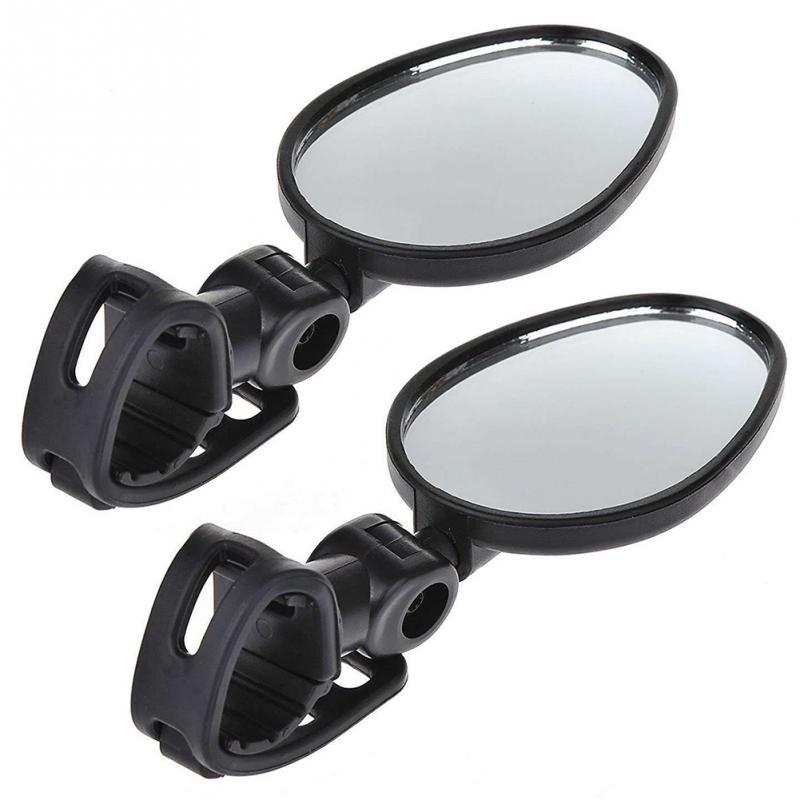 2Pcs Bicycle Mirror Handlebar Rearview Mirror Wide Angle 360 degree Rotate For Mountain Bike Bicycle Cycling Accessories Autocovers