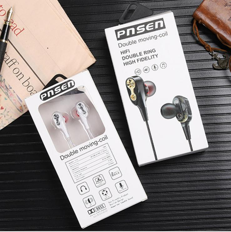 NEW FOR APPLE AND ANDROID CELL PHONE AND COMPUTER CAN BE USD EARPHONES IN0EAR WIRED SPORT AND OUTSIDE MICIOPHONE EARPHONES FREE SHIPPING