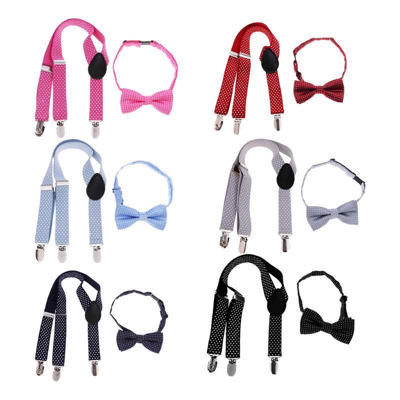 الاطفال للجنسين قابل للتعديل الألوان سليم الحمالات الحمالات بنطلون حزام متعدد