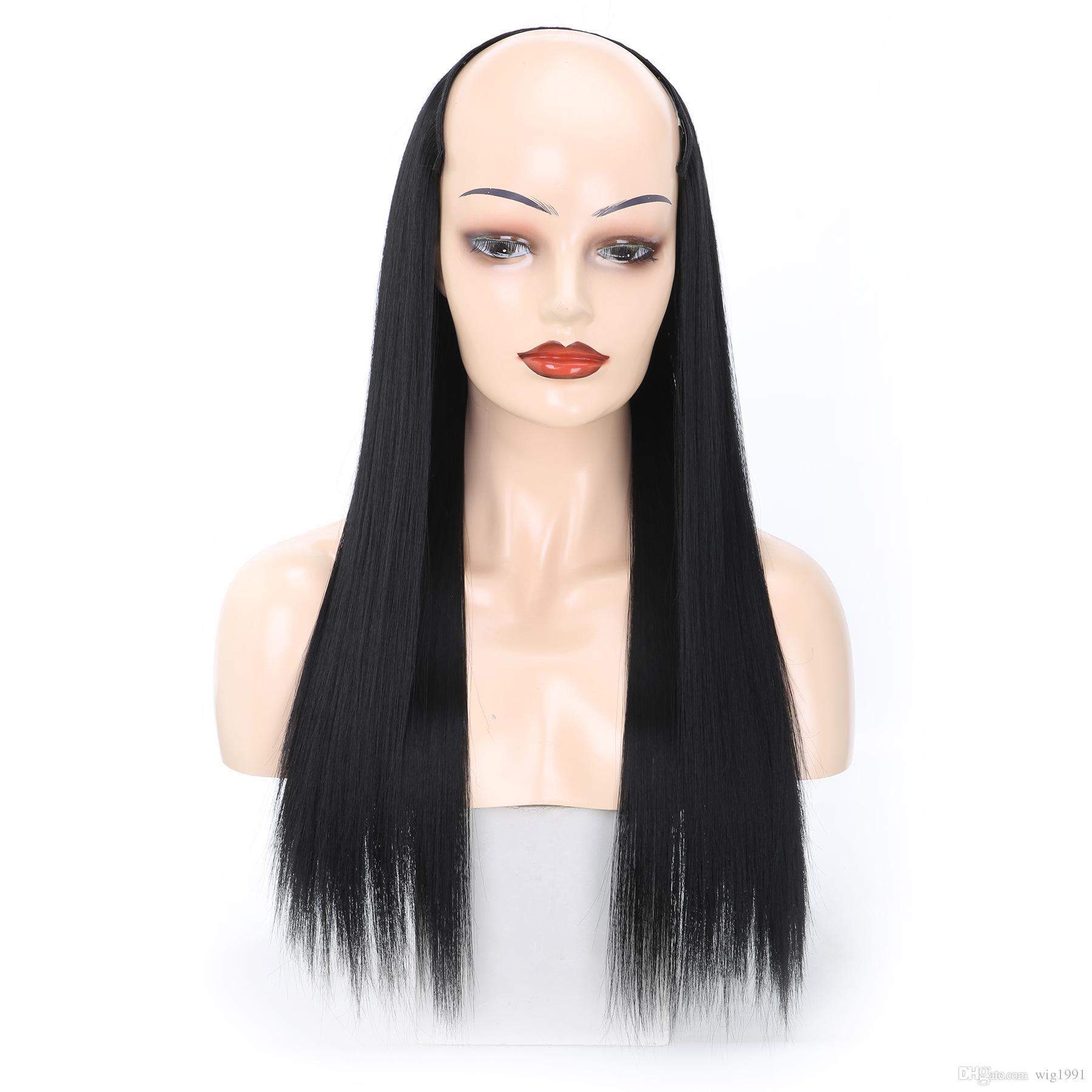 مقطع هيربيسي 26 بوصة أشقر أسود اللون أومبير طويل مقطع في قطعة واحدة 14 ألوان الشعر ملحقات ريال سميكة الطبيعية مستقيم الاصطناعية