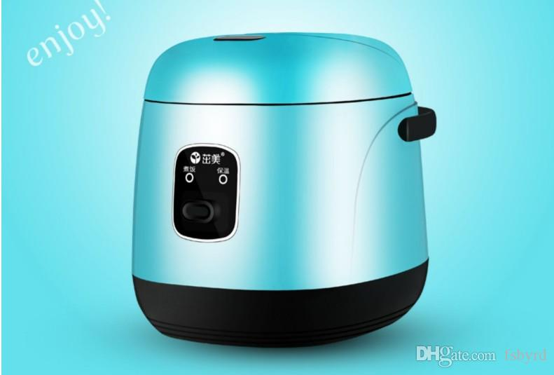 1.2L Mini elétrico panela de arroz 220V Household Student Dormitório Cozinhar panela portátil para o viajante de negócios trabalhando pessoas solteiras 020