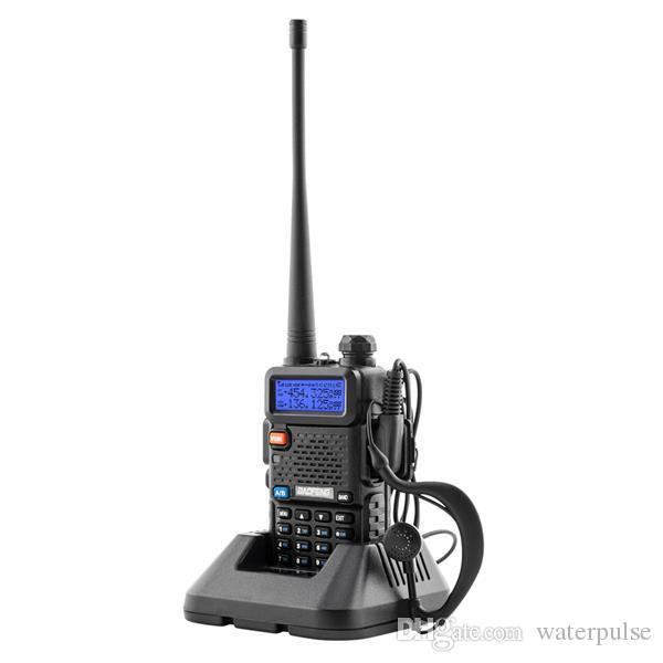 와 보풍 무전기 듀얼 밴드 양용 라디오 하나 더 1500mAh UV5R 배터리 한 손으로 마이크 하나 보풍 라디오 UV5R