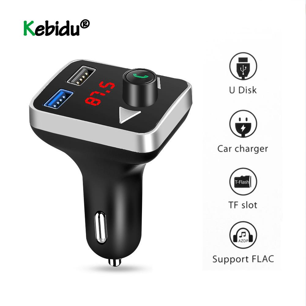 obile Phone Accessories Mobile Phone Chargers USB AUX Bluetooth FM Transmitter MP3 Player Handsfree Car Kit 3.1A Dual USB Charger Power A...