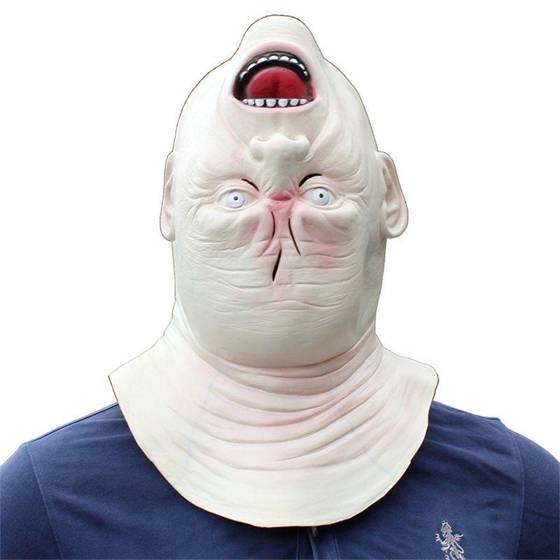 Monstruo ogro Máscara de látex Película Cosplay Adulto Animal Party Mask Kitty Masquerade Prop