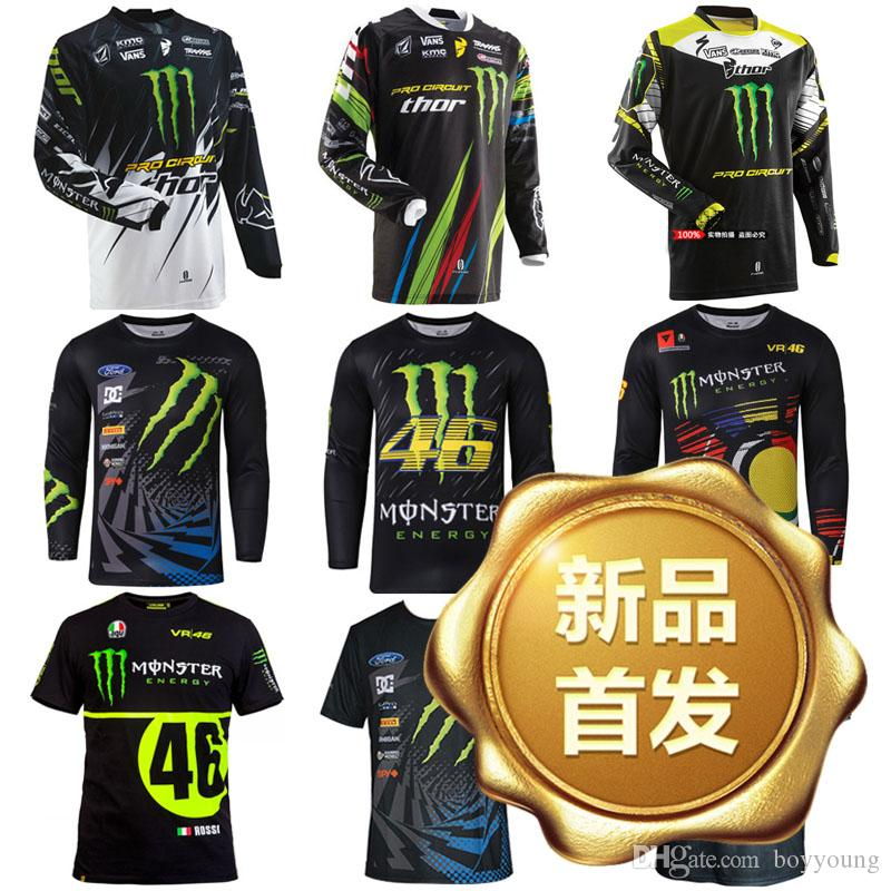 Claw Motorcycle Riding T-Shirt Jersey Shirt Short Sleeve Spring Bicycle Suit Off-Road Shirt Jacket Outdoors Sweatshirt Sportswear