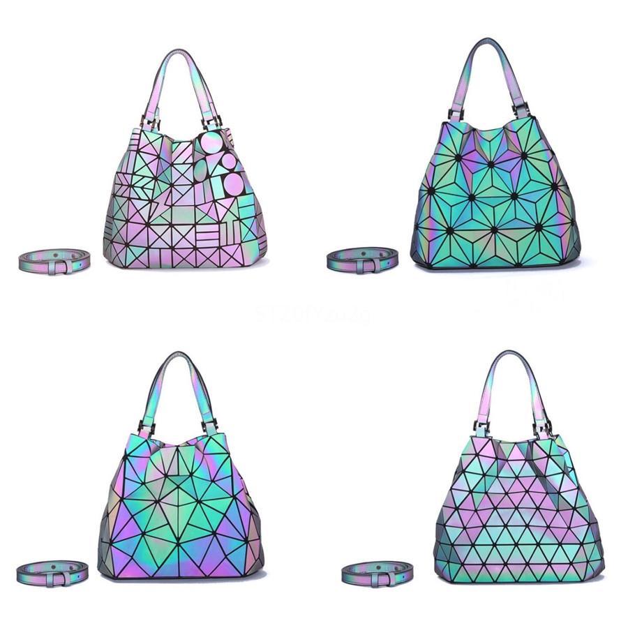 Diseñador de las mujeres retro gran cadena de la borla mujeres de los bolsos de hombro de lujo Pu luminoso láser bolsa grande de mano Señora nuevo # 929