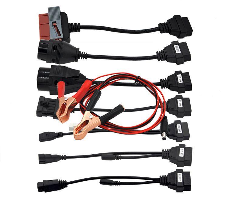 8 in 1 OBD OBD2 linea di estensione per Delphi DS150 / Delphi Ds150eTcs Dp linea di collegamento 2019 cavi diagnostici auto e connettori