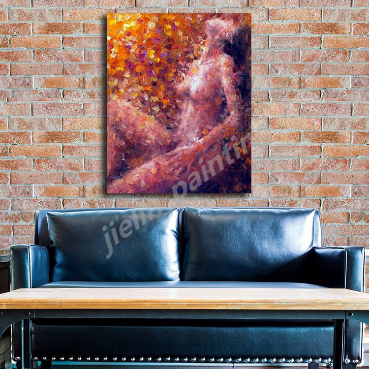 Ternura A Nude Woman Sits Casually Her Body Vulnerably Art Canvas Poster Painting Wall Picture Print Home Bedroom Decoration HD
