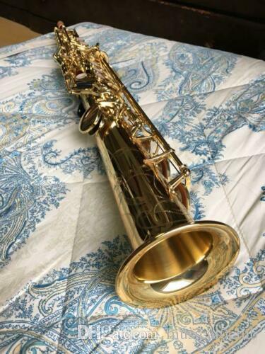 Yanagisawa Soprano Saksafon S-901 II Müzik Aletleri B Düz Pirinç Altın Vernik Yeni Geliş Sax / Japonya'da Saksafon-Made