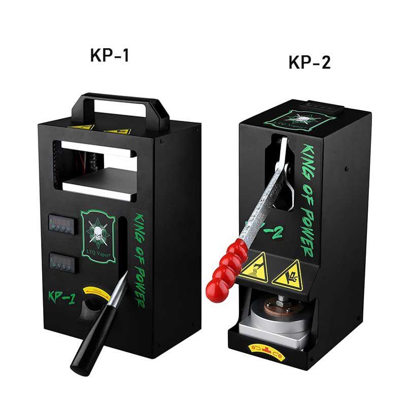 Authentische LTQ Vapor KP1 KP2 Rosin-Presse-Maschine Wachs DAB Squeezer Temperatur Einstellbare Extrahierung Tool Kit Presser mit 4 Tonnen