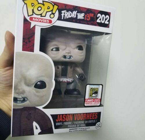 FUNKO POP Freitag der 13. Jason Voorhees Vinyl D # 202 Action-Figur Spielzeug