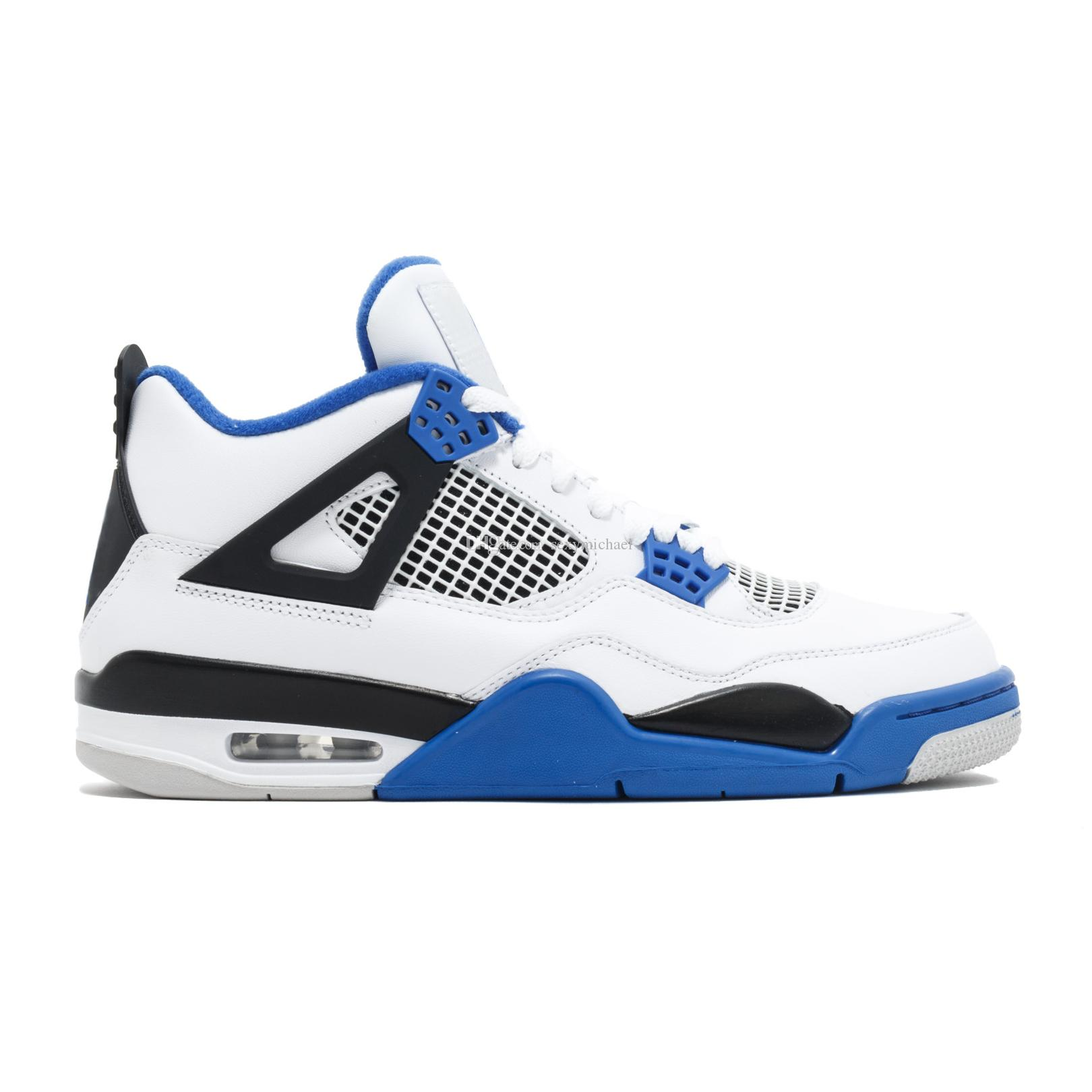 4 Motorsport sneaker 4s Basketball Shoes high quality New 2019 man women trainers leather Sneakers with Box