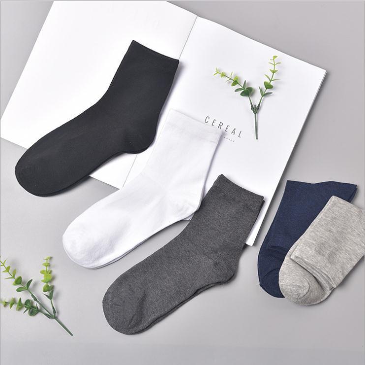 Polyester-Baumwolle 2 Paar Trainer Plain schwarz weiß Herren Socken Frauen Knöchel Casual Socken