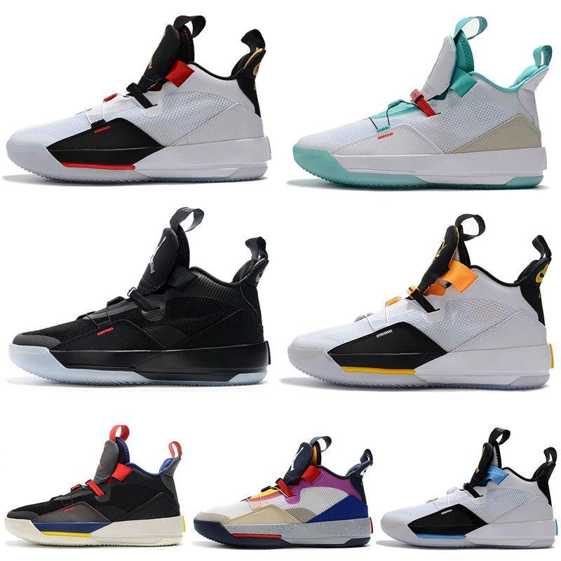 Vendita calda Jumpman XXXIII 33 Future of Flight Tech Pack scarpe da basket 33s Designer formatori modo degli uomini delle scarpe da tennis Formato Gli Stati Uniti 7-12