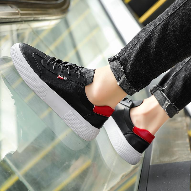 Korean version Sneakers New Classic Style Men Casual Shoes Genuine Leather Casual Shoes Men Shoes Light Comfortable Flats