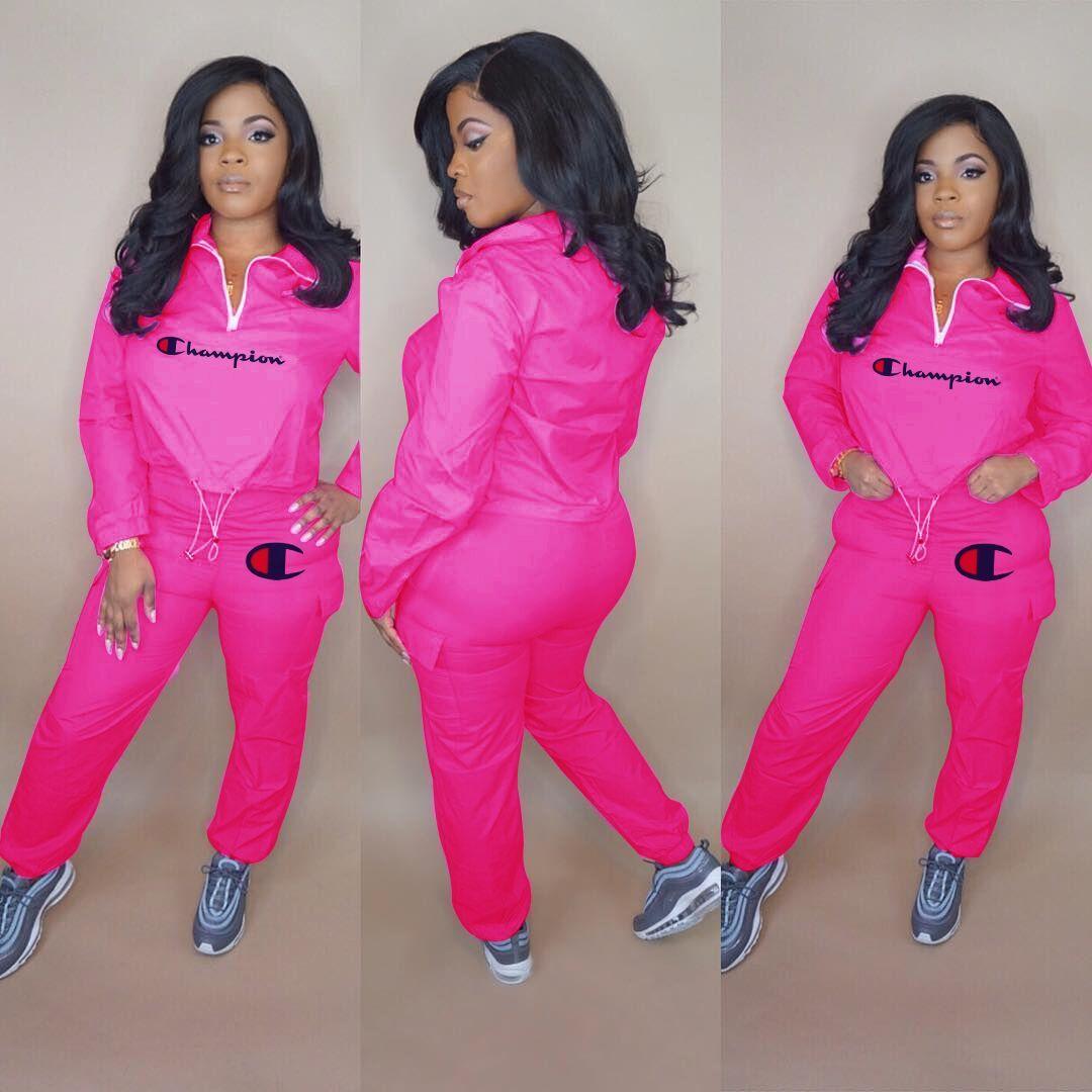 Kleidung der Frauen Langarm-Outfits 2-teiliges Set Trainingsanzug Jogging sportsuit Hosen Strumpfhosen Sportklage Frauen Kleidung klw0824 Sweatshirt