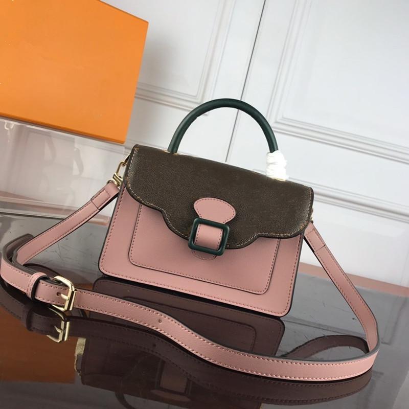 2020 Styles alta qualidade Ladies saco de couro Cadeia Messenger Bag Ms. ombro bolsa fashion