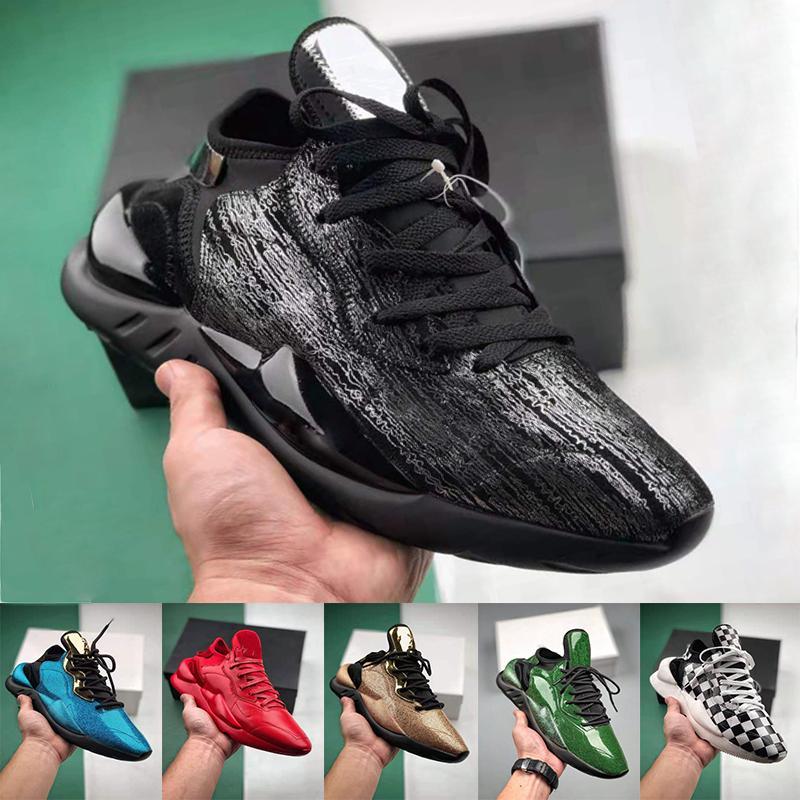 مصمم أحذية النسائية الرجال حذاء الجري adidas Yohji Yamamoto Y-3 Kaiwa كايوا مكتنزة الاحذية Y3 كايوا مكتنزة الرياضة حذاء رياضة حذاء عرضي التدريب