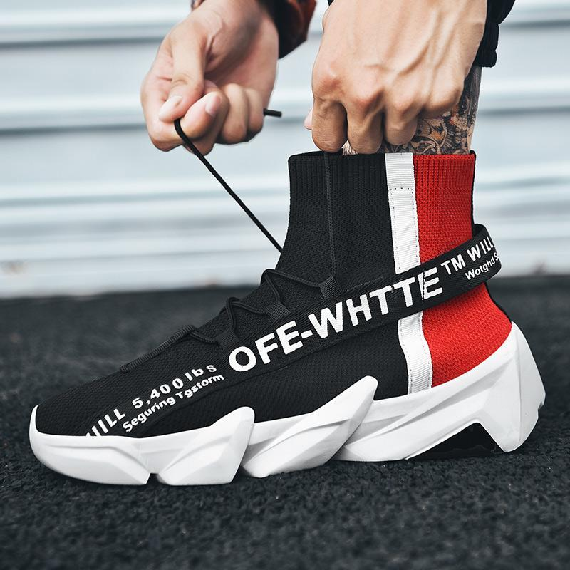 nova moda de luxo designer mens sapatos de designer sneakers plataforma branca do vintage bottoms vermelhos triplos céu 720 casuais High Top meias L28