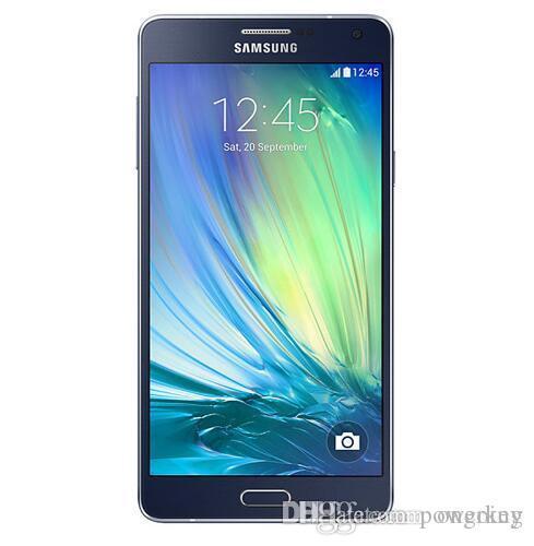 Original Unlocked Samsung Galaxy A7 A7000 Mobile phone 2G RAM 16G ROM 13MP Camera 5.5'' dual sim card LTE WCDMA Refurished