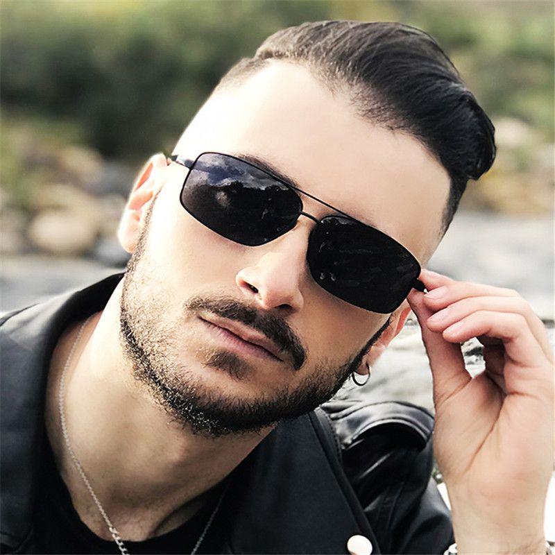 BLUEMOKY 2019 Marke Aluminium Sonnenbrille polarisierte UV400 Spiegel klassisch männlich Polaroid Driving Sonnenbrillen für Männer