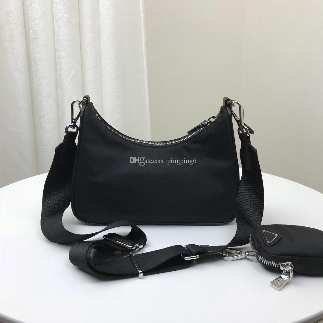 Mulheres Saco Famoso Brand Black 2021 Saco de cor para homens Moda Atacado Yisykiy Novos produtos Moeda Carteira e com pequeno nylon de corpo cruzado HTLB