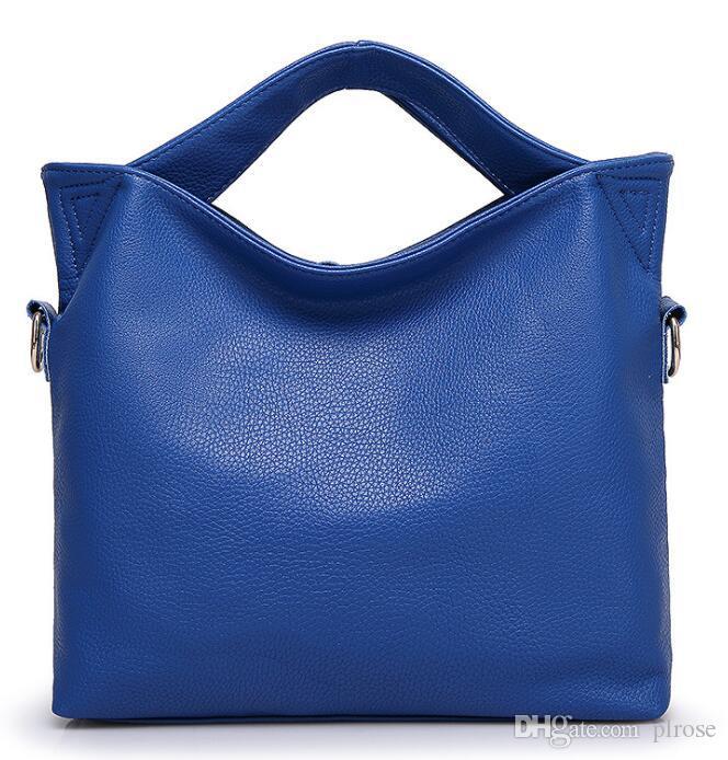 Sonbahar yeni Avrupa ve Amerikan dış ticaret Messenger çanta patlamalar Tote çanta satan 2019 kadın çantası sınır ötesi