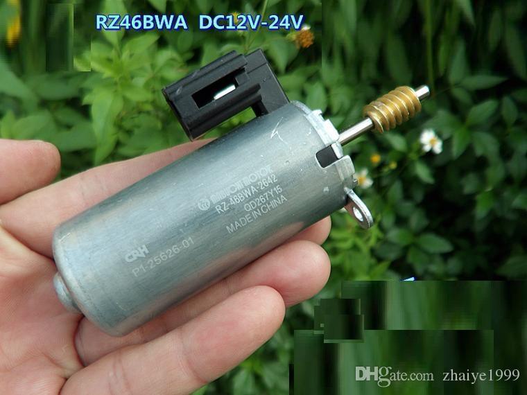 강력한 자석 높은 토크와 긴 차축 / 샤프트와 1PCS 마부 RZ-46BWA 12-24V 자동차 시트 조절 모터