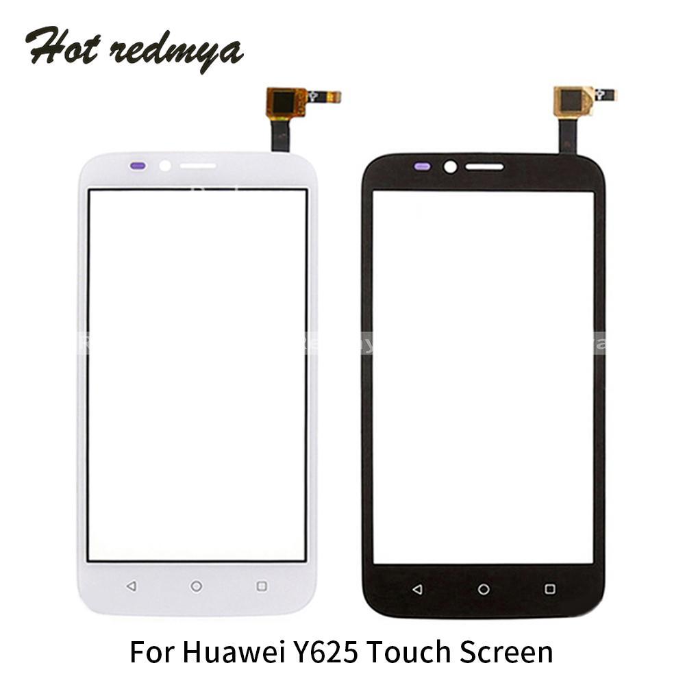 10PCS tactile en verre d'écran pour Huawei Ascend Y625 verre Capteur Capacitif Pour Huawei Y625 à écran tactile de l'écran Pièces de rechange