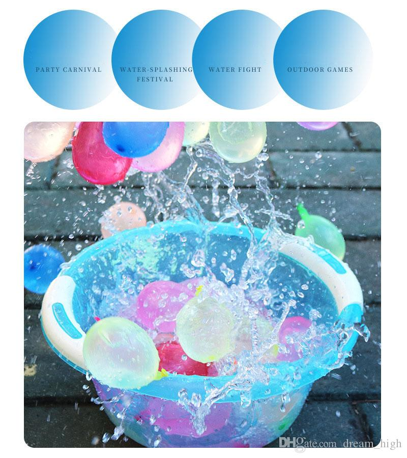 2019 Magic Water Bombs Balloons Self Sealing Water Balloons Kids Toy For  Children Pool Prank War Game Summer Outdoor Beach Toy Party From  Dream_high,