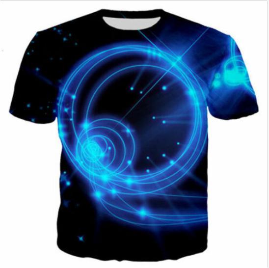 Großhandels-Sommer-Art Aureole T-shirts Neueste Art- und Weisemann-Frauen 3D Charakter-T-Shirts beiläufiges T-Shirt 3D Druck-T-Shirt übersteigt DC0110