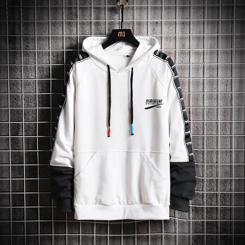 2019 Nuovo arrivano hoodies degli uomini di marca Felpe con cappuccio spessore casual Plus Size Pullover vestiti caldi Tute CJ191219