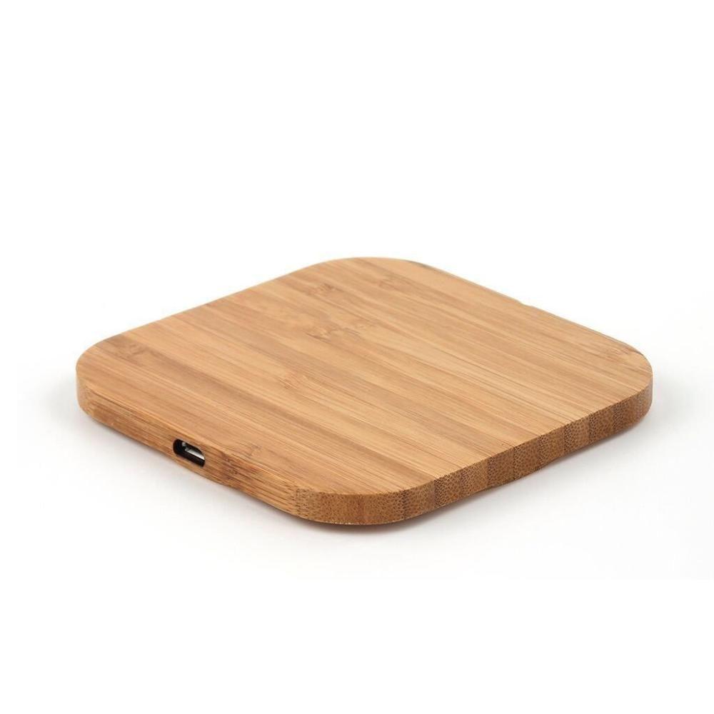 Ци беспроводное зарядное устройство зарядки тонкий деревянный коврик для iPhone 11 х 9 8 Про плюс чехол смарт-телефона Зарядное устройство для Samsung С8 С9 С10 плюс