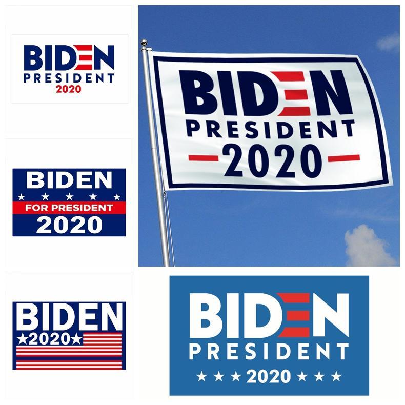 Joe Biden Trump 2020 Flag Letter Support Oppose Joe Biden President USA 90*150cm Big Hanging Trump 2020 Flying Flag 13Styles