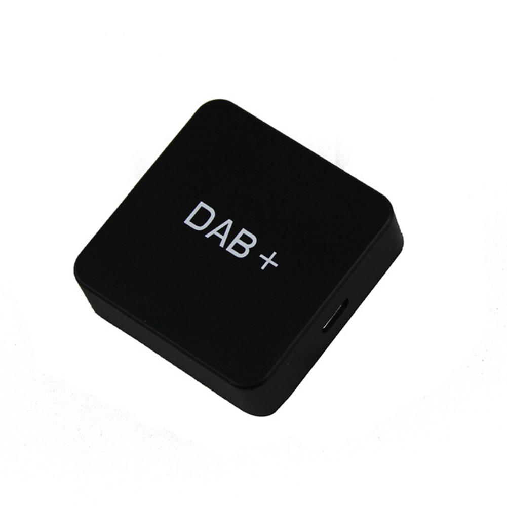 DAB Audio USB Digital Radio Durable Player Car Use Accessories Amplified Portable Adapter DVD External Mini Receiver Box