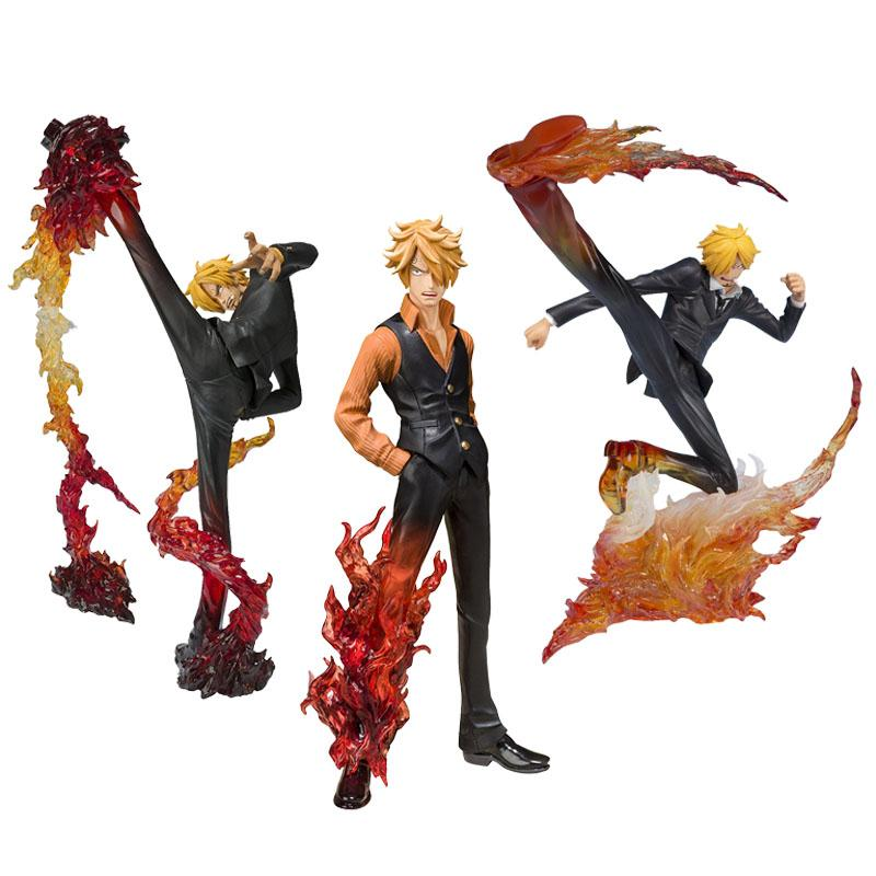Acheter Figure One Piece Figure Figure Daction Sanji Figuarts Zero Battle Ver Diable Jambe Sanji Pvc Modele Poupee Jouets De 18 92 Du Lakeball Dhgate Com