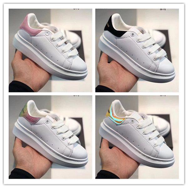Classique Jeunesse Stan Smith Superstar Enfants Filles Garçons Bébé Enfant Enfant Chaussures Sport Casual Taille 24-35