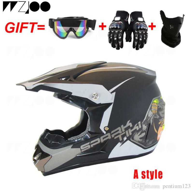 2019 sıcak yeni tam yüz kask çalıştırmak çift mercek kask motosiklet kask çarpıcı renk kafatası ücretsiz kargo Capacete De Moto