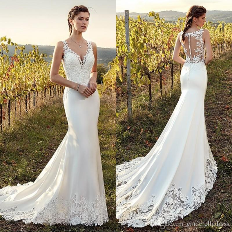 Cute Beach Wedding Dresses
